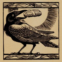 St Benedict's Raven by lonelybadger