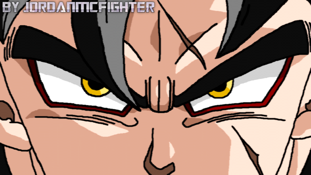 SSJ4 Future Gohan eyes by JordanMcFighter