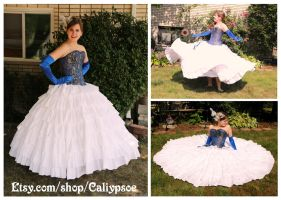 Seven Tiered Ruffle Petticoat by Caliypsoe