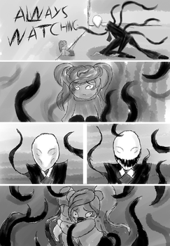 An Other Slender Story - Scene Cut 01 by TheSingBlueSilver