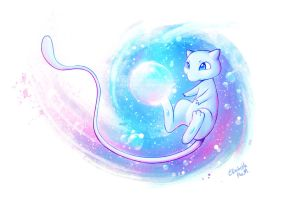 Shiny Mew by Emeraldus
