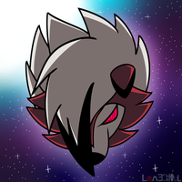Moon dog by Ghost-Galaxies
