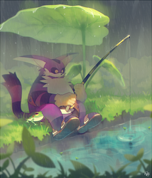 Rain by Hanybe