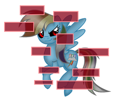 Rainbow Dash.EXE (Sonic Forces Style) by GlorysiaMelodyYT