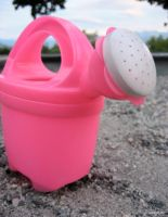 My Pink Watering-can by TwiggyLostCandy