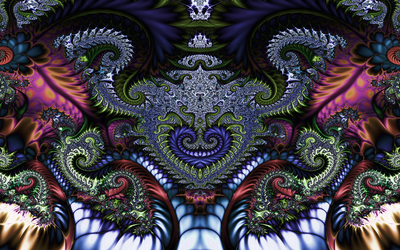 A fractal face 2 by Xenodreaming