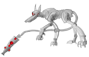Revisit: Cardian Hounds by Myriagonic