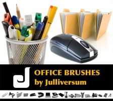 HIGH RES Office Brushes by Julliversum