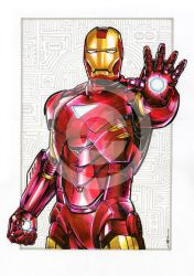 Iron Man Commission by quigonjimg