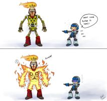 Look at Mighty No. 1 by syahilla