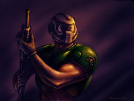_DOOMGUY_ by PitBOTTOM