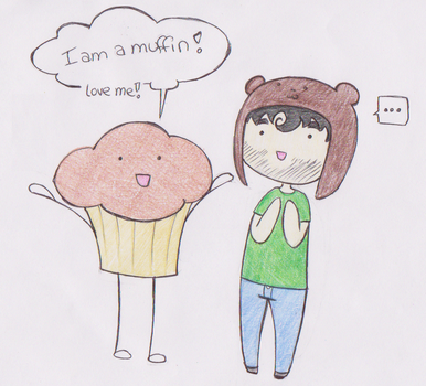 Muffin Love by FAKEpersonaGirlyGirl