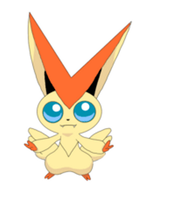 Victini - Macaron Victory Dance -Pokemon Animation