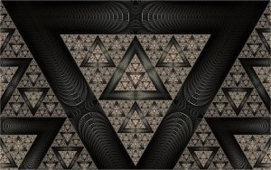 Sierpinski time by FractalDesire