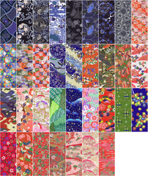 Origami Paper Scans by ThanatosRising