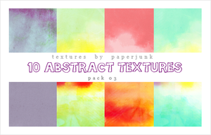 Textures Pack 03: Abstract by PaperJunk