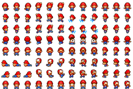Baby Mario RPG Maker MV by RetroSpriteResources