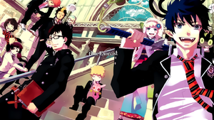 Blue Exorcist Wallpaper by T1A60