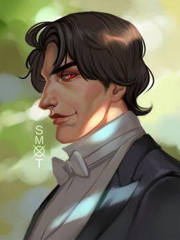 Claude Martel commission by Smoxt
