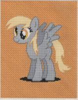 Derpy Hooves Stitched by MidwestBrony
