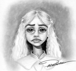 Daenerys from game of thrones by pat-mcmichael