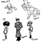 PC Sketches by Rue-of-Blue-Breeze