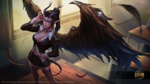 HoN: Headmistress Succubus by mictones