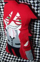 Grell Pillow-Plushie by 2sadsexually