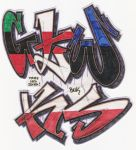 Stickers 142 by VHS-Guri