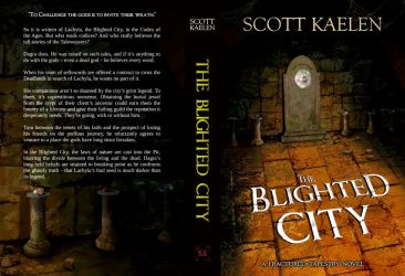 The Blighted City- Book Cover by sketchypages