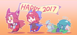 Happy 2017! by Mochiyy