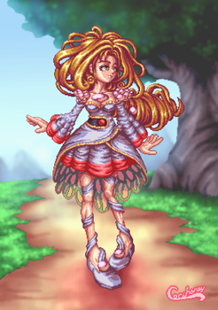 Pearl for Legend of Mana Collab by Cecihoney