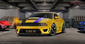 Ford Mustang DVT for Musaudi by TMSVirtualTuning