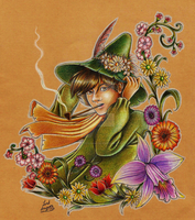 Snufkin's Spring by Lord-Giovanni