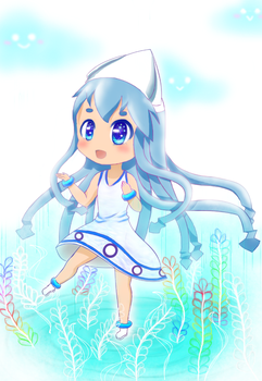 Collaboration: Ika Musume
