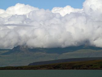 Ben Ghoblagh in the cloud by piglet365