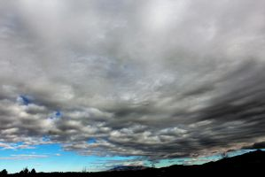 Clouds Over New Mexico by hclausen