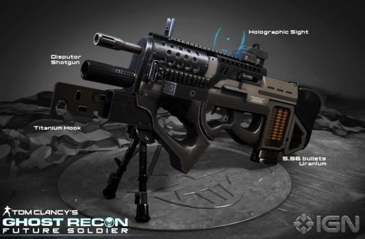 Ghost Recon: Future Soldier MR-B Assault Rifle by Scarlighter