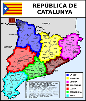 Map of Republic of Catalonia by matritum