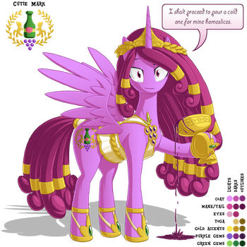 Princess Pinot-Noiria: Character Reference by BerryPAWNCH