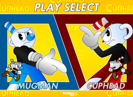 Cuphead: Select Characters by RoseMary1315