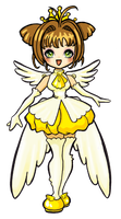 Card captor sakura yellow cutee by ma-petite-poupee