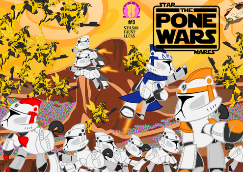 The Pone Wars #3: Tack of the Clones, Part III by ChrisTheS