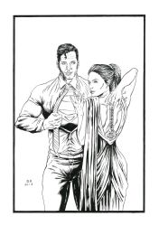Clark and Dianna by Daniel-Alexandre