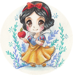 Snow White by Marmaladecookie