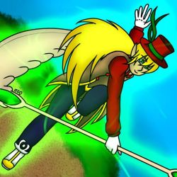 Hatter in Spin by forestchick501