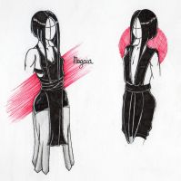 Magaia - OC Concept sketches by KletteDame