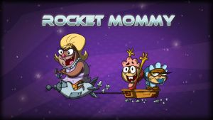 Rocket Mommy Titlecard  Copy by HEROBOY