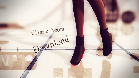 [MMD] Classic Boots [DL~] by ZerevinaNatalia
