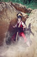 Toph Beifong - Ever seen an Earthbender in action? by Saerithi